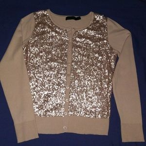 The Limited Sequin Cardigan